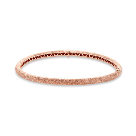 Matte Brilliance Bangle Bracelet, Pandora Rose™