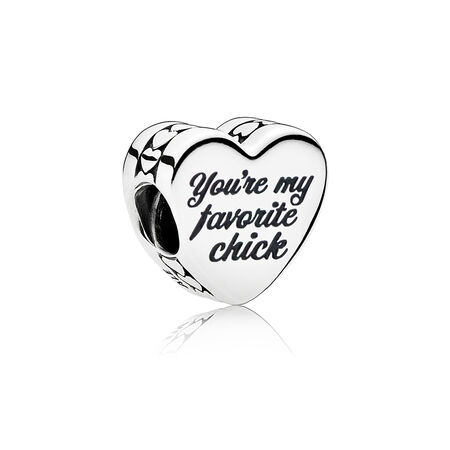 You're My Favorite Chick Charm, Mixed Enamel