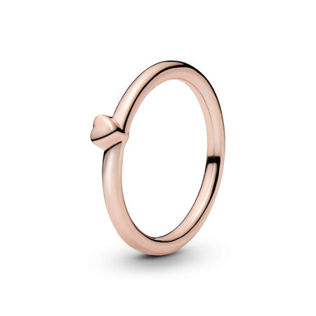 Puzzle Heart Ring, PANDORA Rose™
