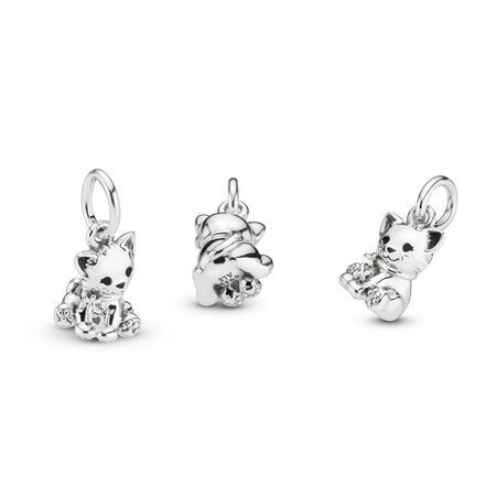 Sweet Cat Dangle Charm