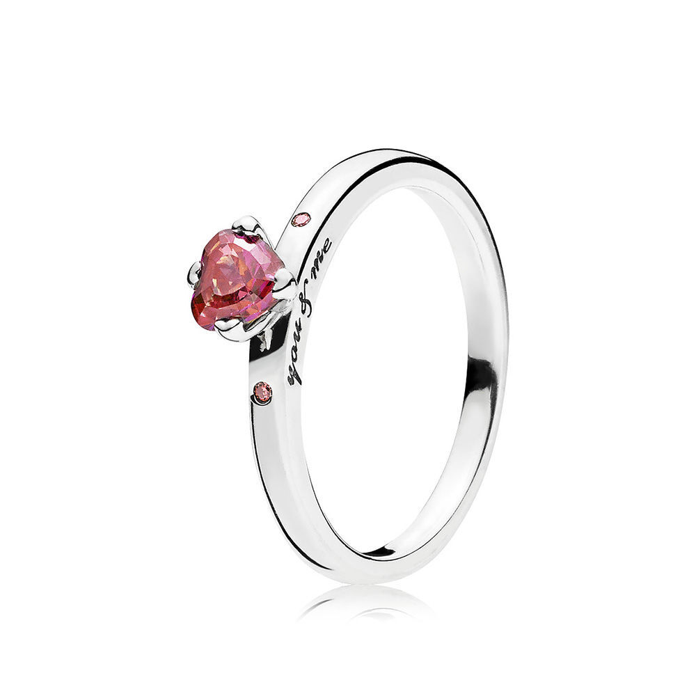 Schön You U0026 Me Ring, Multi Colored CZ