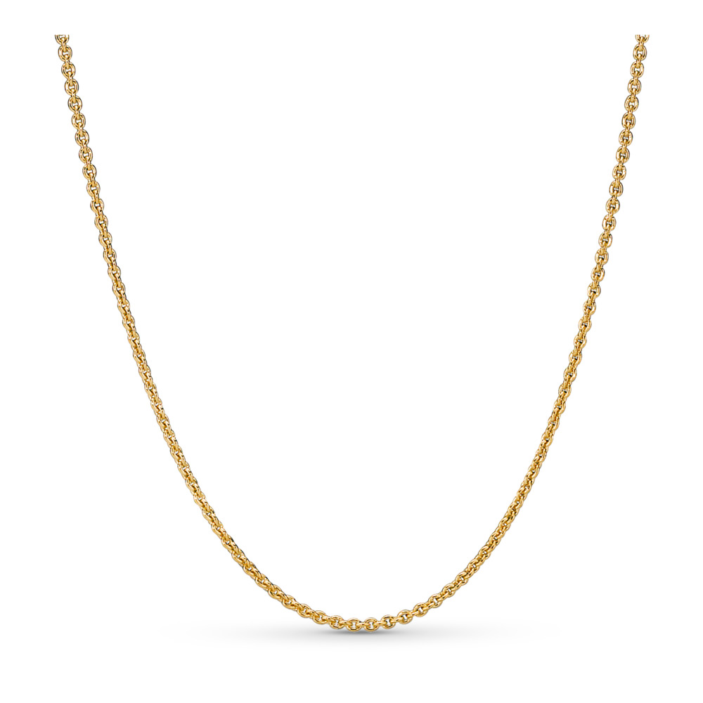 Pandora Shine Necklace, 18ct Gold Plated - PANDORA - #367991