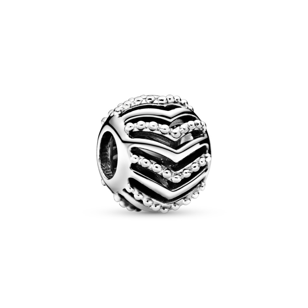 Stylish Wish Charm, Sterling silver - PANDORA - #797805