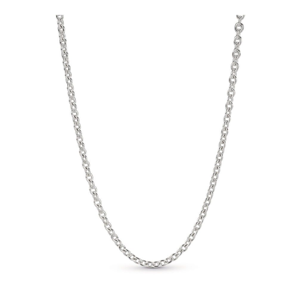 Sterling SIlver Chain Necklace, Sterling silver - PANDORA - #590200