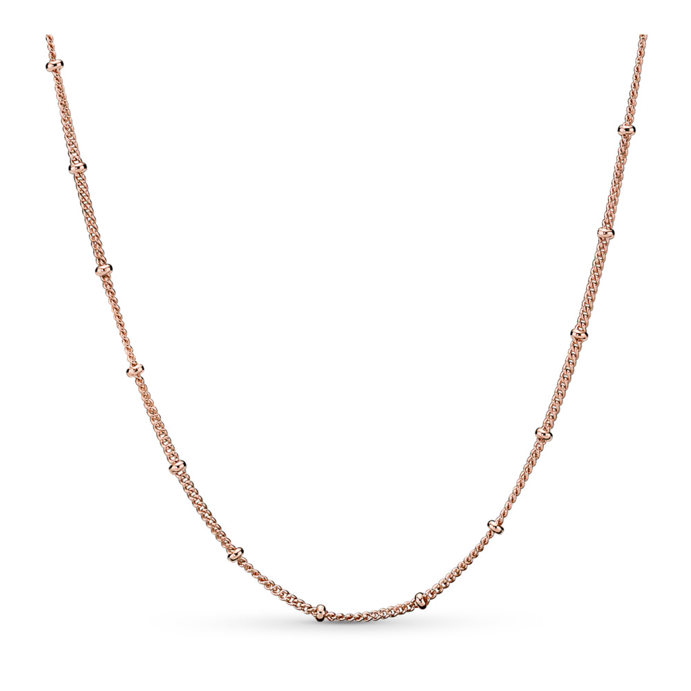 Beaded Necklace, Pandora Rose™, PANDORA Rose - PANDORA - #387210