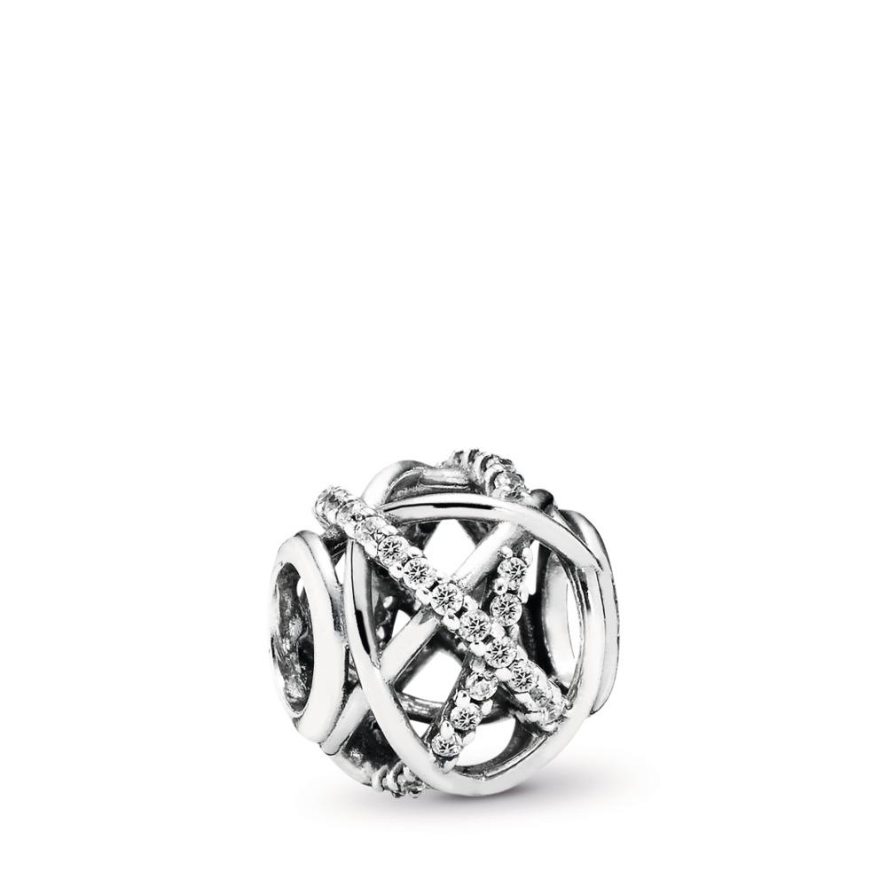 판도라 PANDORA Galaxy, Clear CZ Sterling silver, Cubic Zirconia