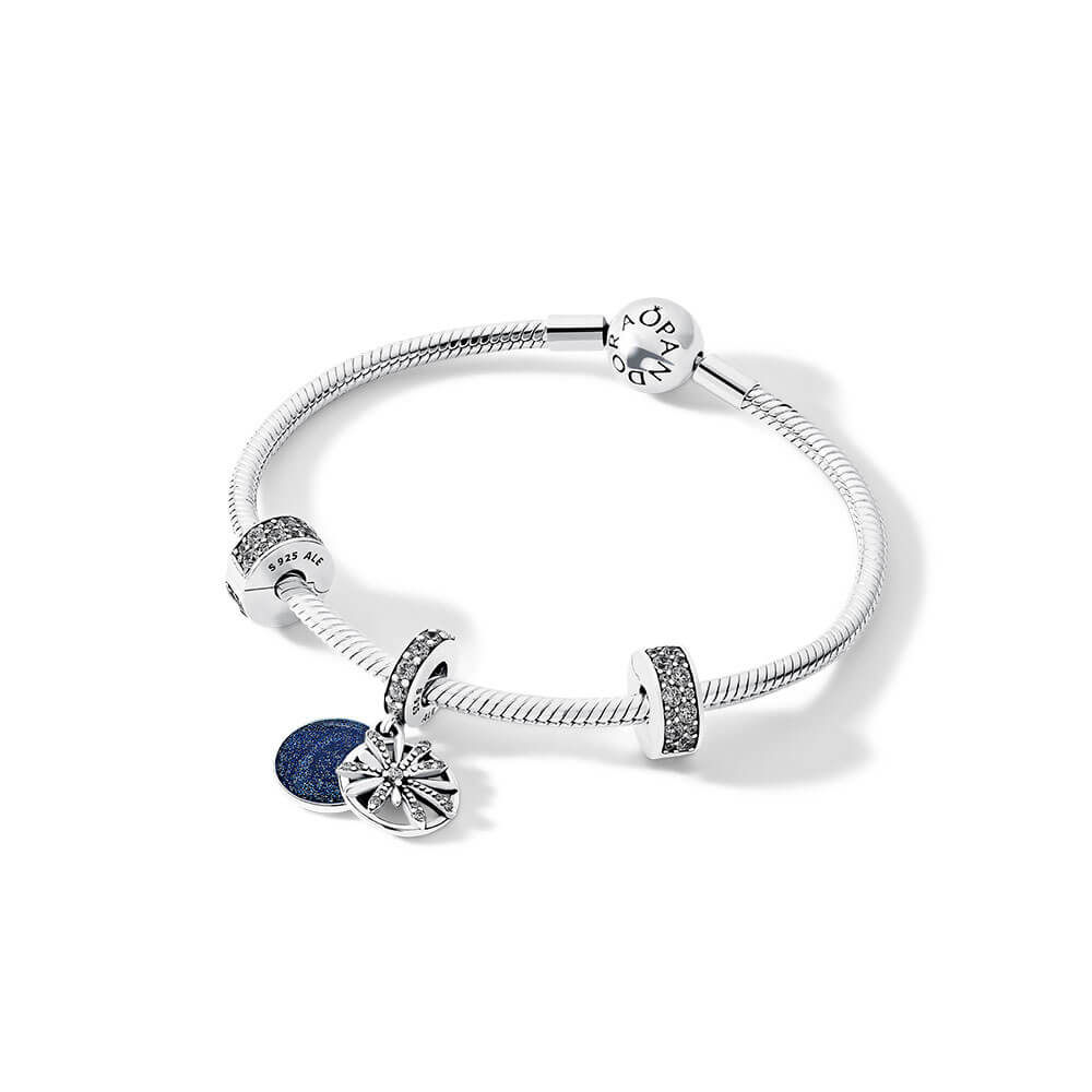 Dazzling Wishes Bracelet Gift Set, Sterling Silver, Cubic Zirconia - PANDORA - #B801002