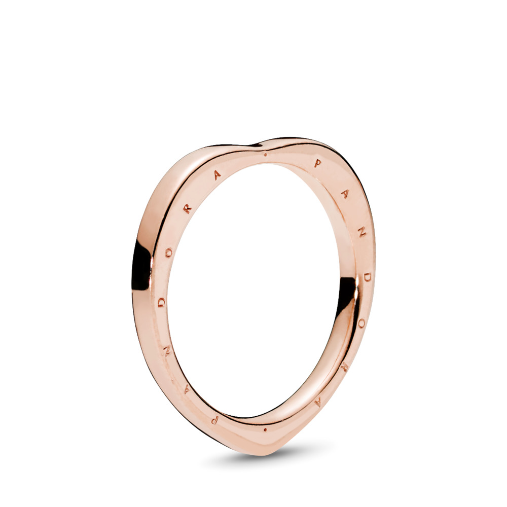PANDORA Signature Arcs of Love Ring, PANDORA Rose™, PANDORA Rose - PANDORA - #187379
