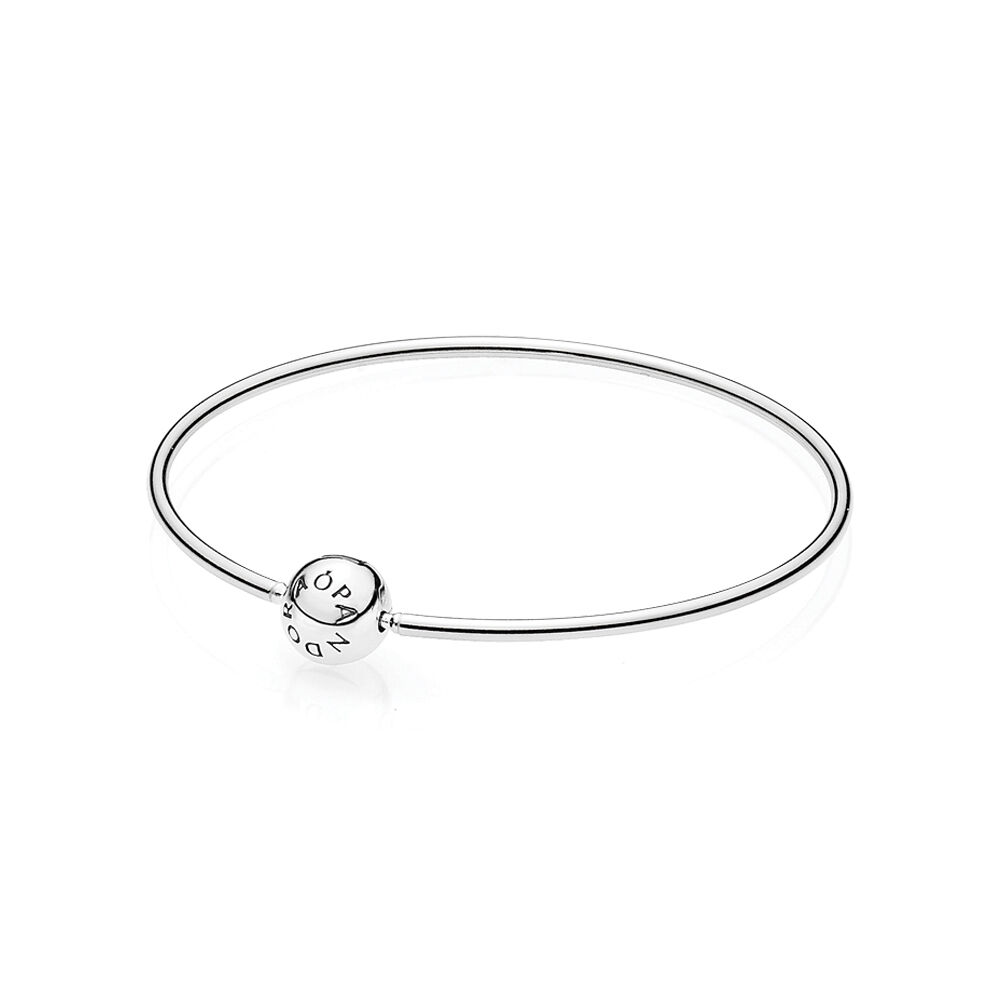 pandora bangle to open bracelets en how bracelet signature bangles a estore