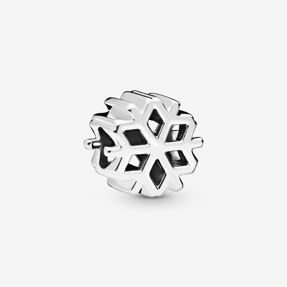 Polished Snowflake Charm