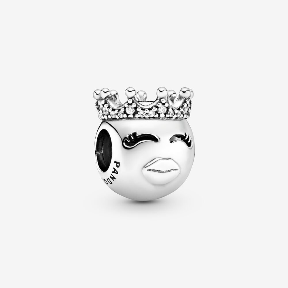 Princess Emoticon Charm