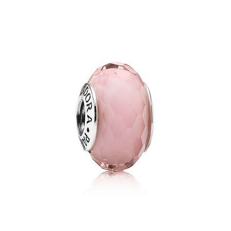 Fascinating Pink Charm, Murano Glass