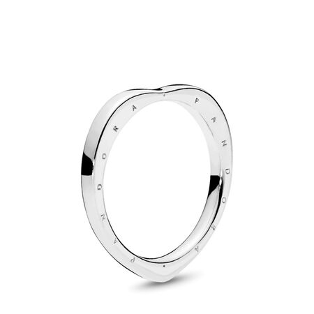 PANDORA Signature Arcs of Love Ring, Sterling silver - PANDORA - #197379