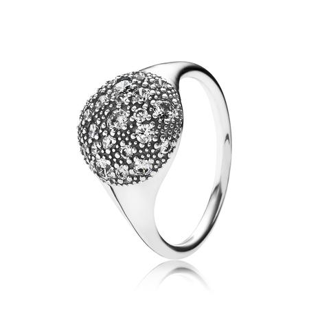 Cosmic Stars Ring, Clear CZ