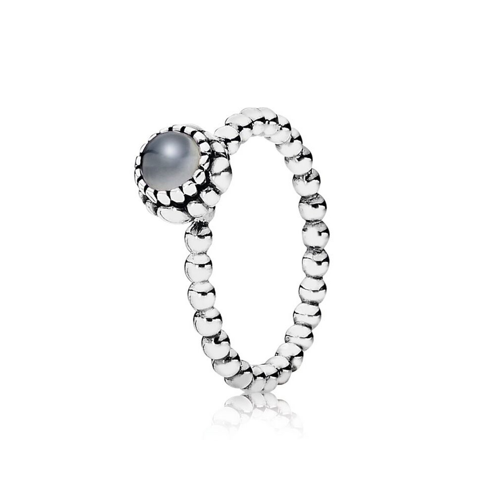 pandora birthstone april ring