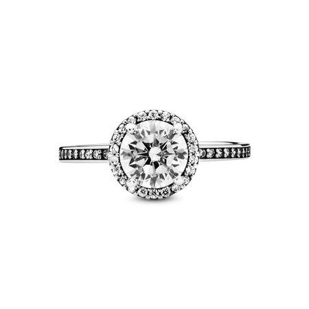 Round Sparkle Ring