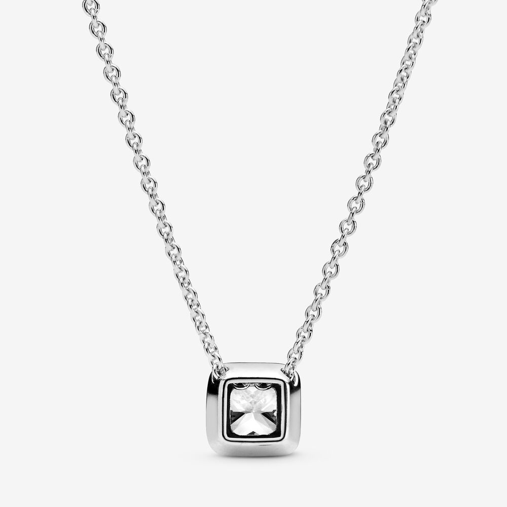 Timeless Elegance Necklace with Clear CZ