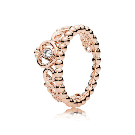 My princess tiara ring pandora rose clear cz pandora jewelry us my princess tiara ring pandora rose solutioingenieria Images