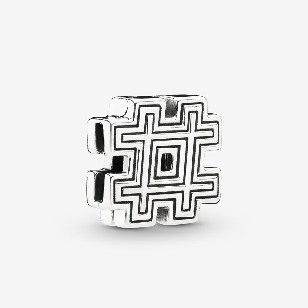 Pandora Reflexions™ Hashtag Symbol Clip Charm