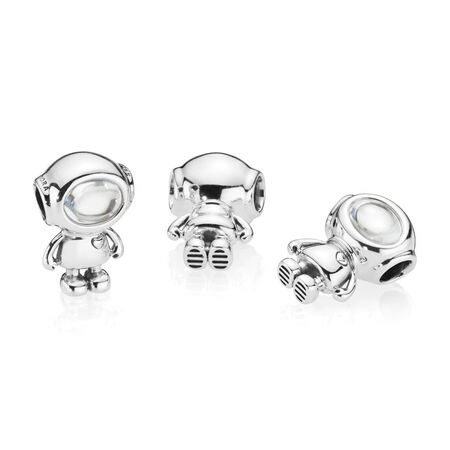 Cosmo Tommy Charm, Clear CZ