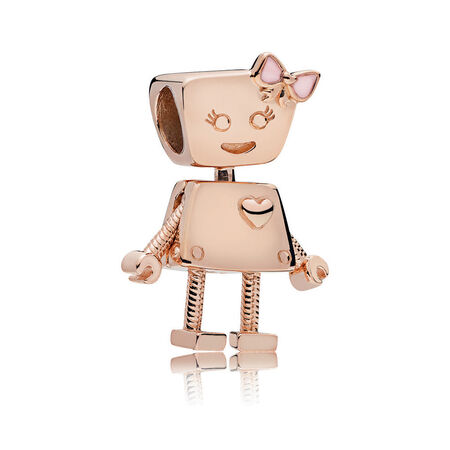 Bella Bot Charm, PANDORA Rose™