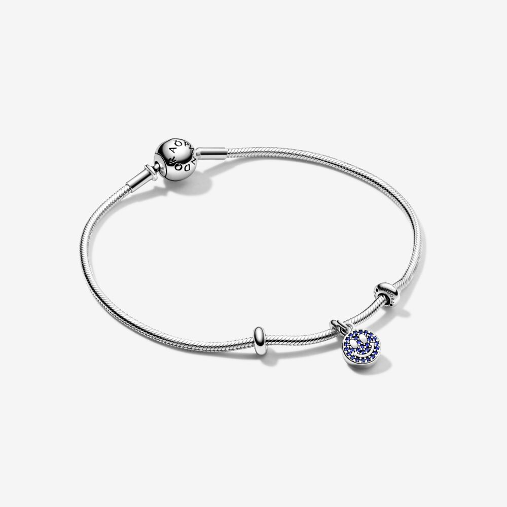 Pandora Christmas Gift Set: My Smile Dangle Charm Gift Set, Sterling Silver
