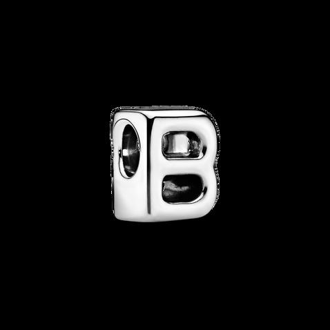 Letter B Alphabet Charm