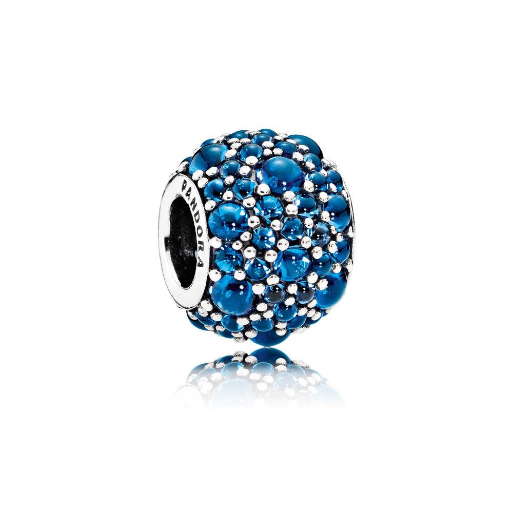 Shimmering droplets charm london blue crystal pandora jewelry us shimmering droplets charm london blue crystal izmirmasajfo