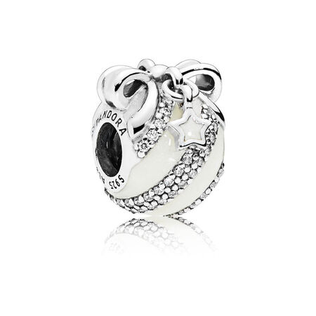 2018 Exclusive Holiday Charm & Ornament - Inspired by the Radio City Rockettes, Sterling Silver, Enamel, Silver, Cubic Zirconia - PANDORA - #B800998