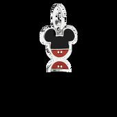 Disney, Mickey Icon Dangle Charm, Mixed Enamel