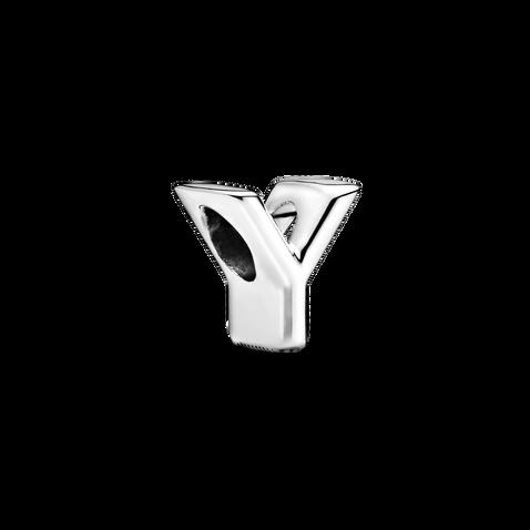 Letter Y Alphabet Charm