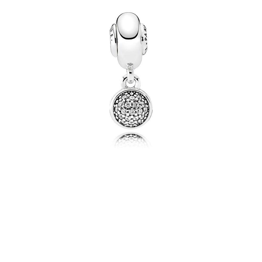Hope Dangle Charm Clear Cz Pandora Jewelry Us