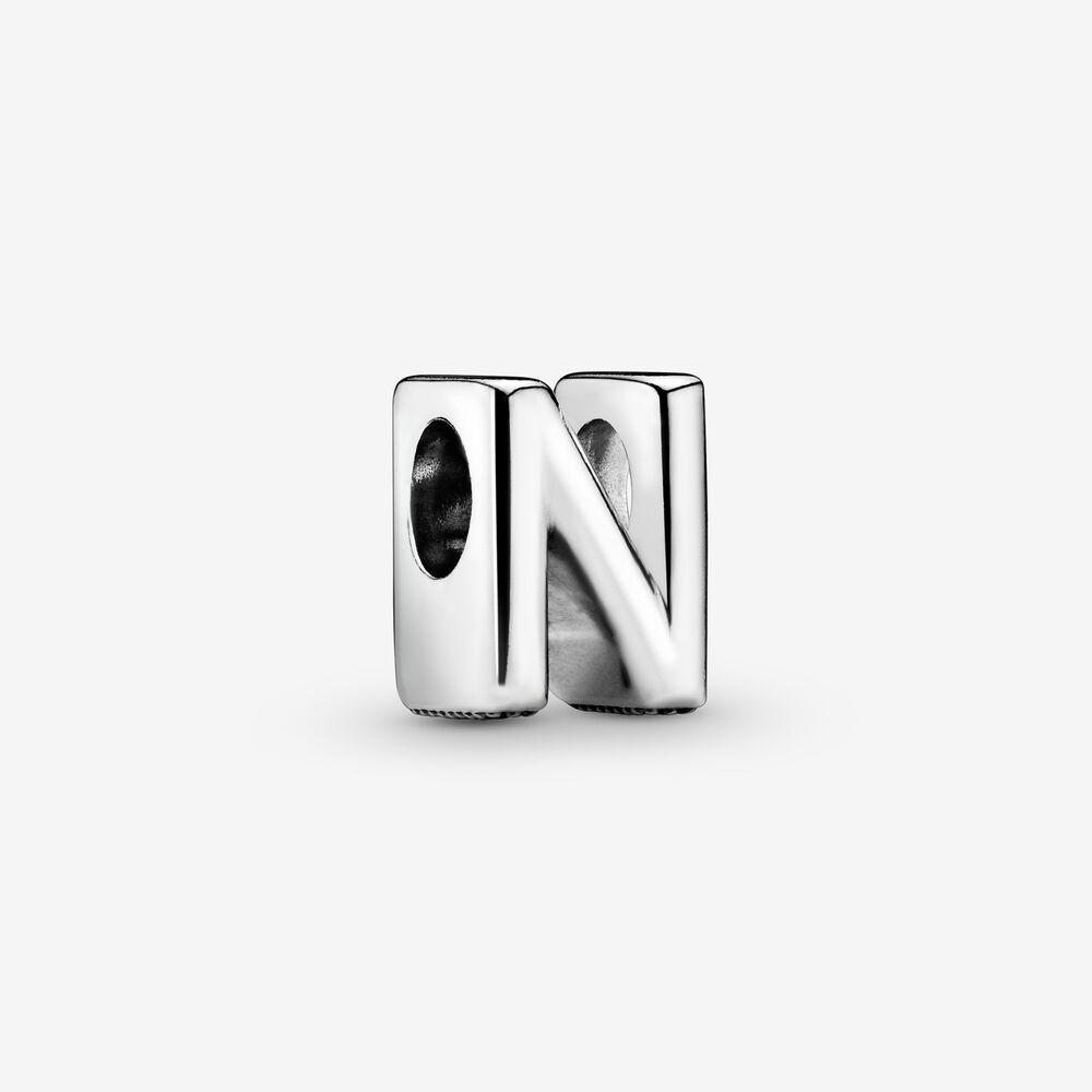 Letter N Alphabet Charm
