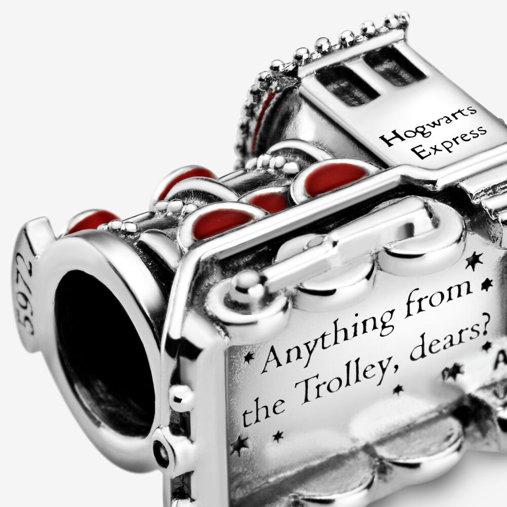 Harry Potter, Hogwarts Express Train Charm | Sterling silver ...