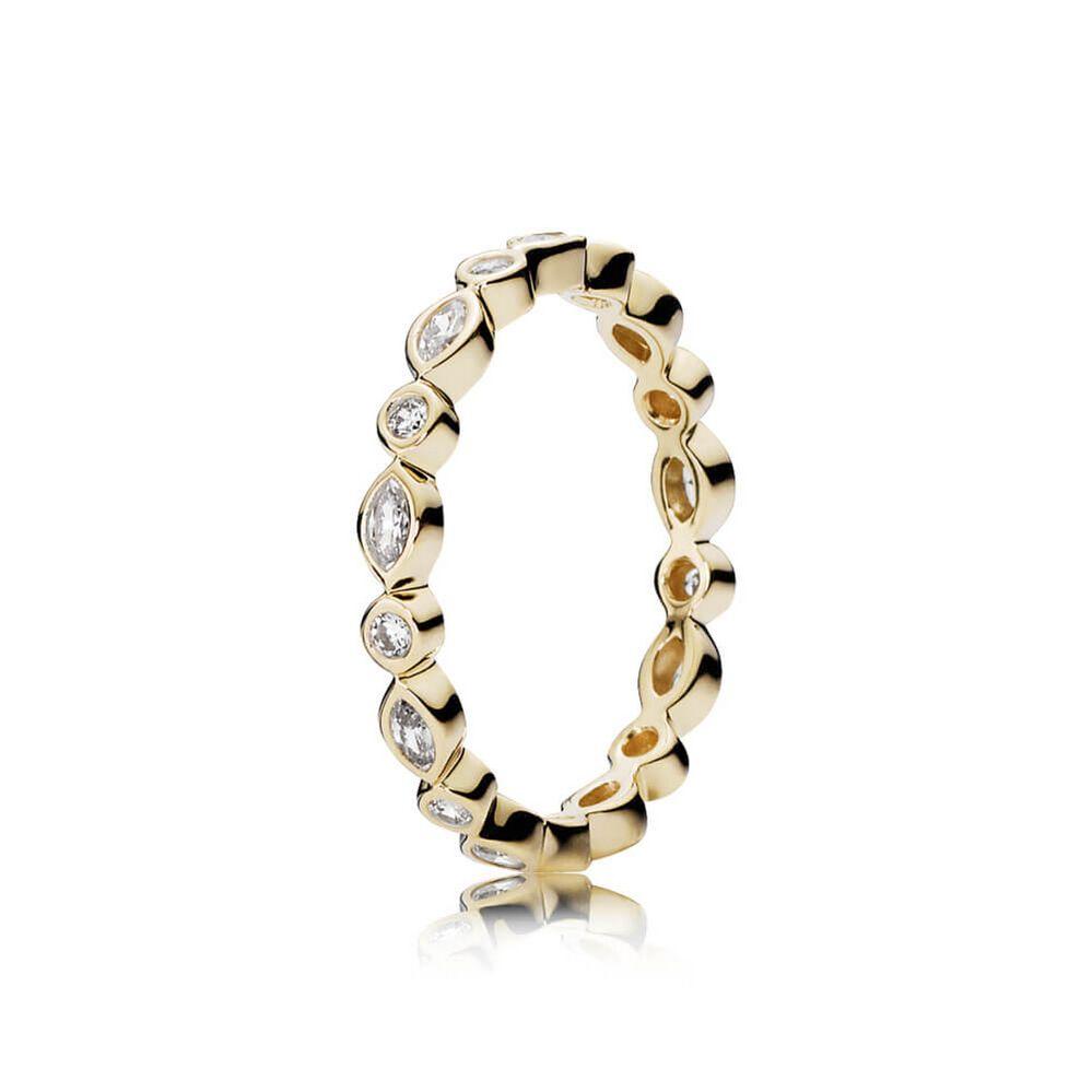 pandora rings gold