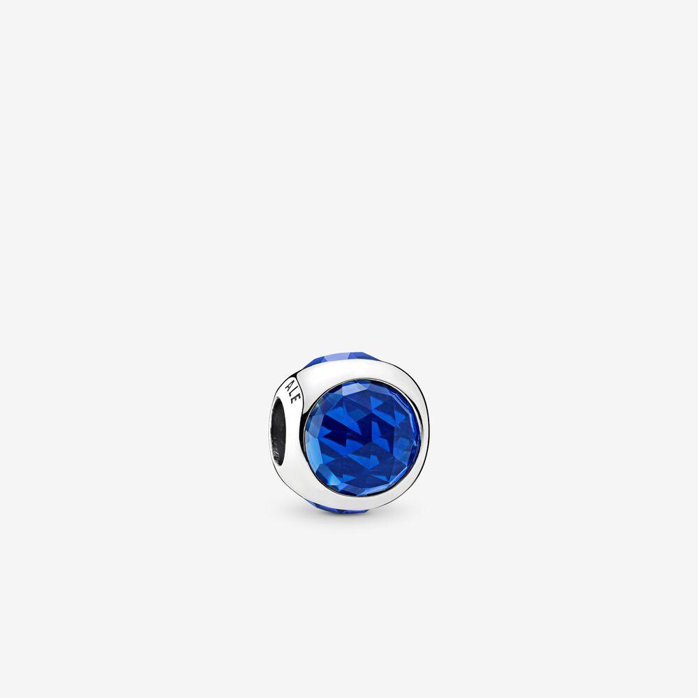 Radiant Droplet Charm, Royal Blue Crystals