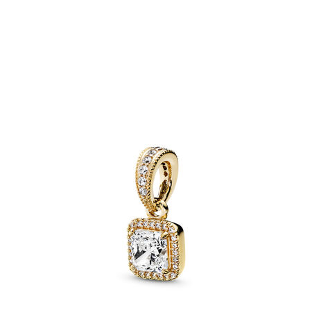 00fa8ea7f Timeless Elegance, Pendant 14K Gold & Clear CZ Yellow Gold 14 k, Cubic  Zirconia