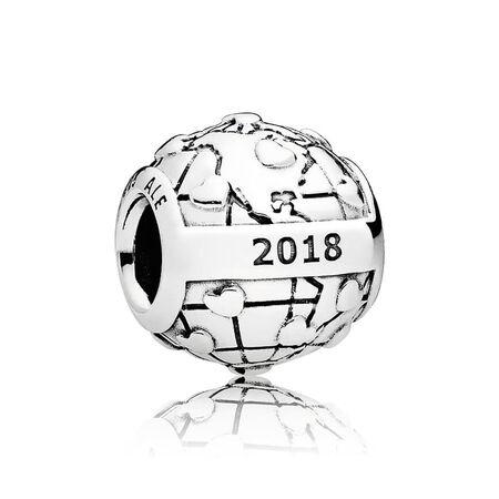 2018 PANDORA Club Charm, 0.01ct TW h/vs Diamond
