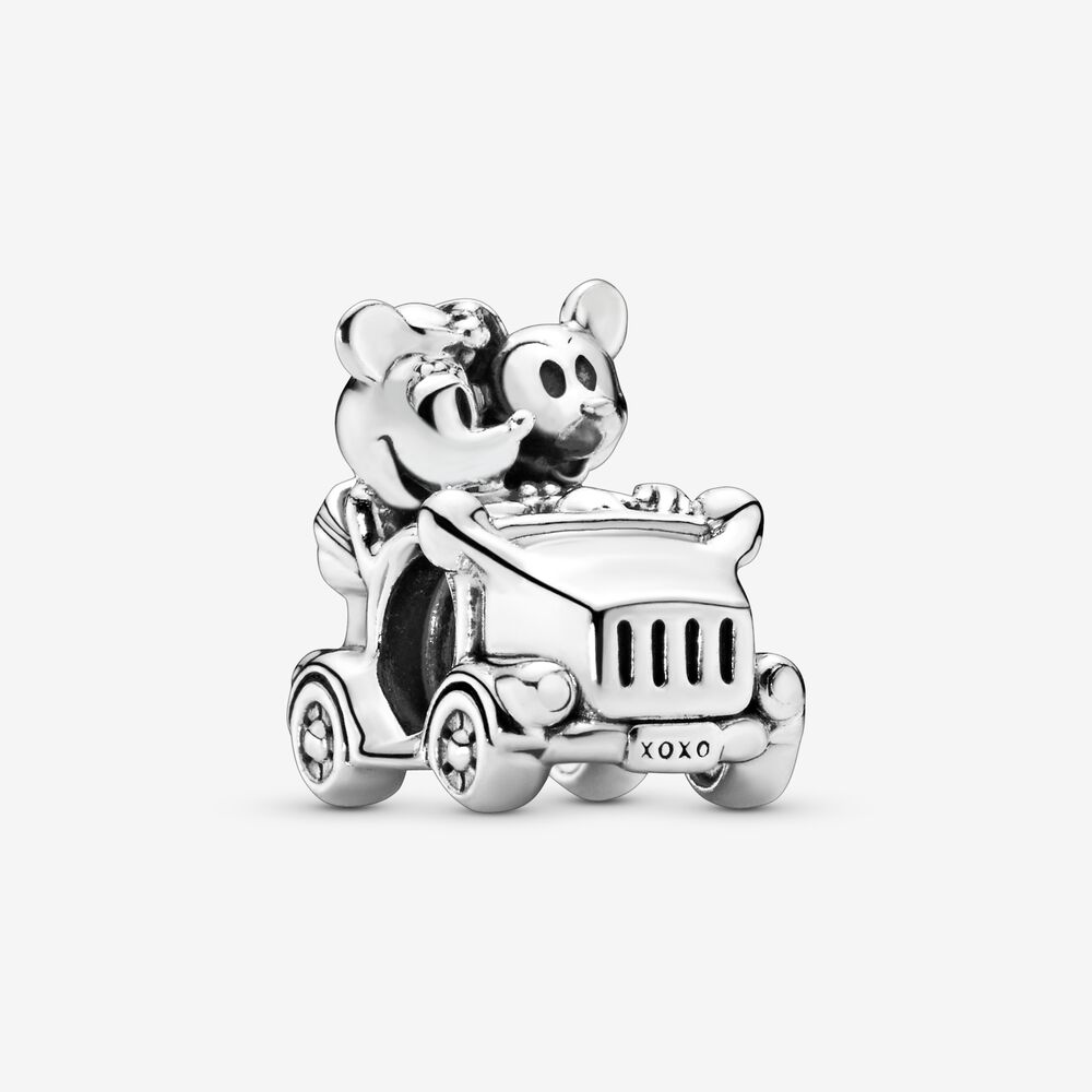 Disney Minnie Mouse & Mickey Mouse Car Charm | Sterling silver ...