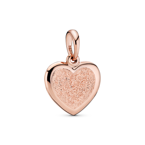 Matte Brilliance Heart Pendant