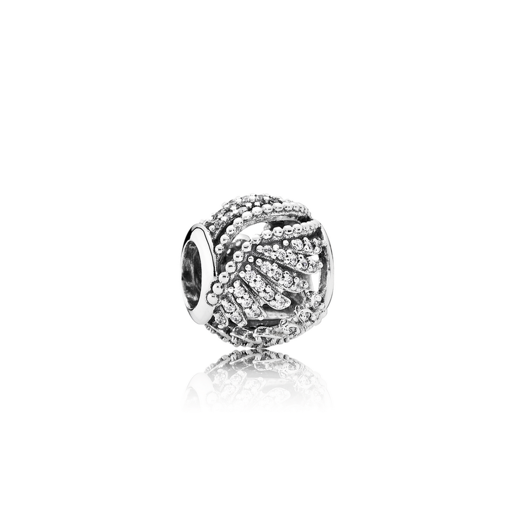 491fb4cce ... Pave Phoenix Feather Charm New 925 Sterling Silver Bead Jewelry Fits  Pandora Majestic Feathers, Clear CZ ...