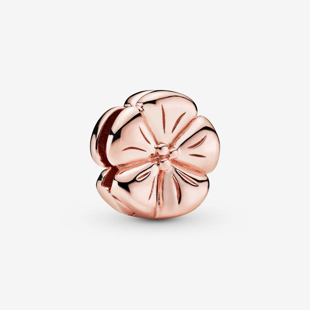 pandora clip charms rose gold