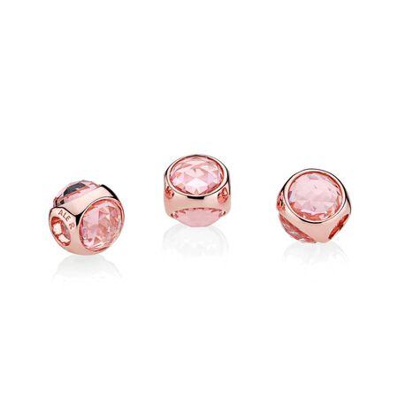 Radiant Droplet Charm, PANDORA Rose™ & Pink Mist Crystals