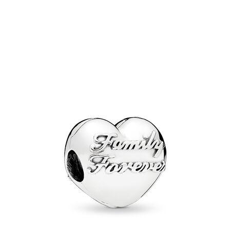 Family Union Clip, Sterling silver - PANDORA - #796204