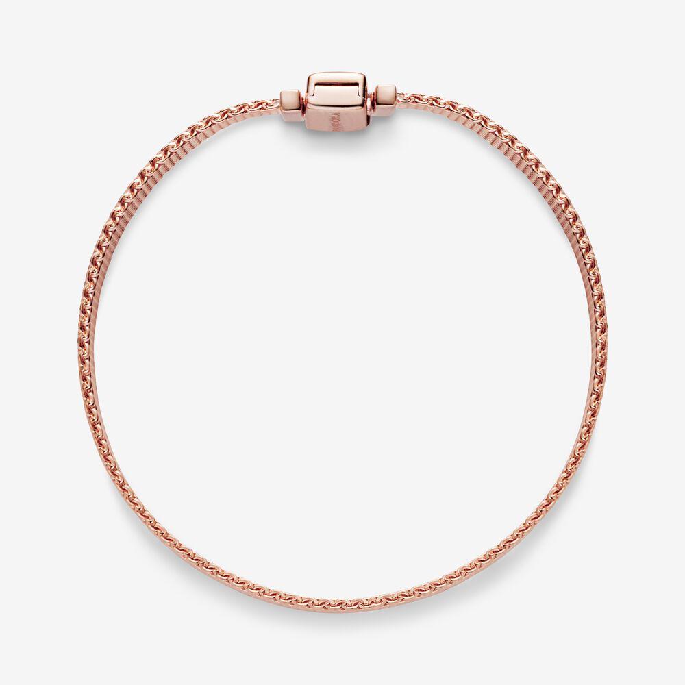 Pandora Reflexions™ Mesh Bracelet   Rose gold plated   Pandora US