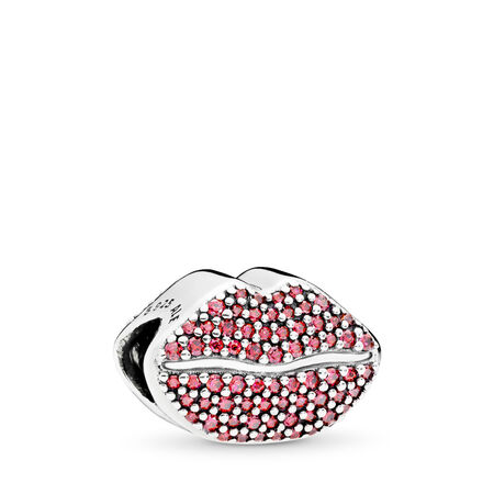 Kiss More Charm, Red CZ