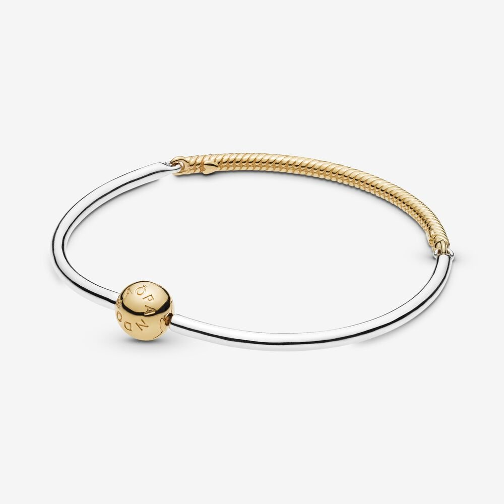 Moments Three-Link Pandora Shine™ Bangle Bracelet