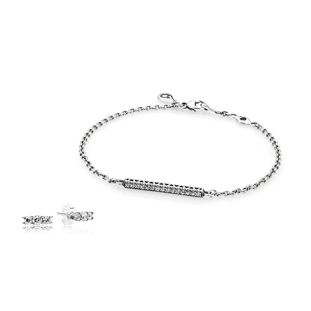 pandora jewellery women bracelet image anklet greed moments mesh silver john