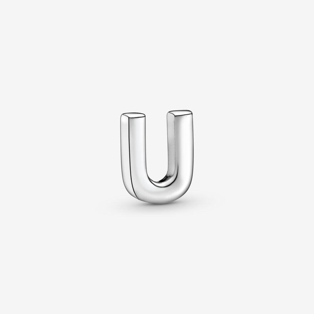 Letter U Alphabet Locket Element