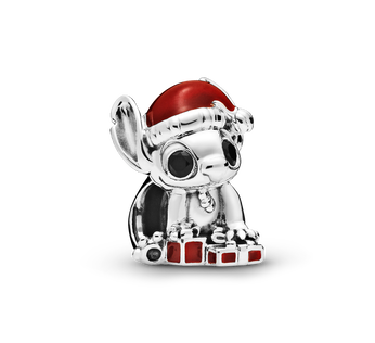 Disney Stitch Christmas Charm